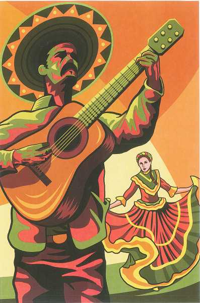 by: SUBMITTED - This design by St. Paul native Jason McMillen is being used on all promotional material for the 50th annual Fiesta Mexicana.