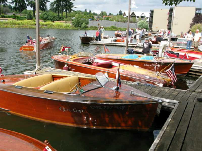 by: JUDE GRAHAM - Classic boats have become a popular part of the Lake Oswego Heritage Council event on Aug. 17 and 18.