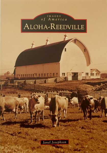 by: TIMES PHOTO: JONATHAN HOUSE - Janel Josephson wrote 'Images of America: Aloha-Reedville.'
