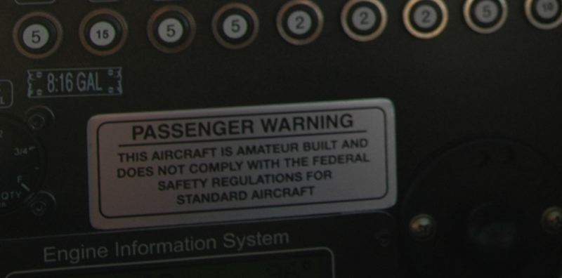 by: ISABEL GAUTSCHI - If Rhodes werent such a smooth flier, this sign might have been more alarming.