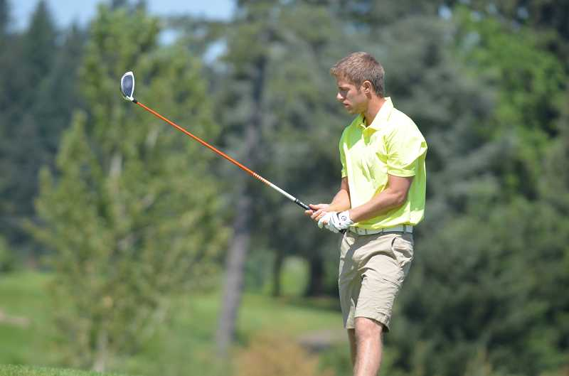 by: JEFF GOODMAN - Bradley Klienstuber, who was named the Three Rivers League player of the year as a senior, plans to continue his golf career as a walk-on at Brigham Young University.