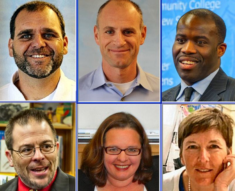 by: PHOTOS COURTESY OF PORTLAND PUBLIC SCHOOLS - Principals - the six new appointments in Inner Southeast, from top left:  T. J. Fuller, Woodstock Elementary; Matt Goldstein, Duniway Elementary; Conrad Hurdle, Creston K-8; and from bottom left, Joseph Galati, Llewellyn Elementary; Brenda Fox, Lane Middle School; Pam Joyner, Hosford Middle School.