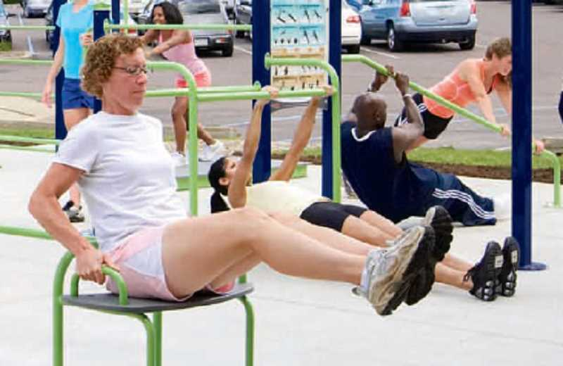 by: ENERGI - This example of outdoor fitness equipment could become a reality along a walking path in Woodburn's Centennial Park in March 2014 if the Ford Institute Leadership Program's Woodburn cohort can raise enough funds by September. The group has to raise $12,000, with only $5,500 still needed.
