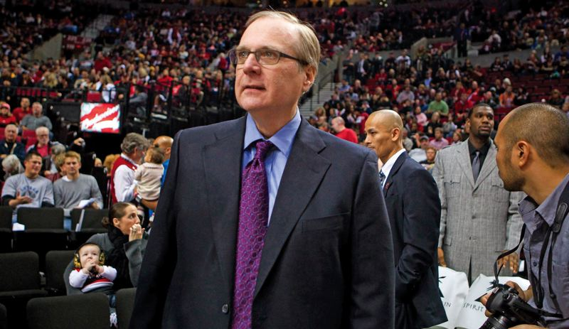 by: TRIBUNE FILE PHOTO: CHRISTOPHER ONSTOTT - Trail Blazers owner Paul Allen has received analysis from his staff that an NHL team could work here, says Chris McGowan, the NBA teams president/CEO .
