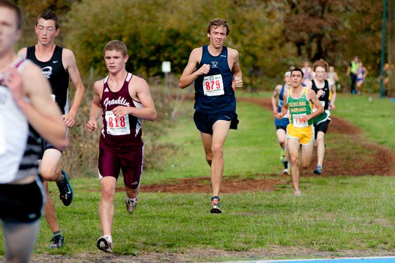 by: GREG ARTMAN - Ben Thomas, who was the runner-up at the Northwest Oregon Conference district cross country finals as a senior, will continue his running career at Pacific University.