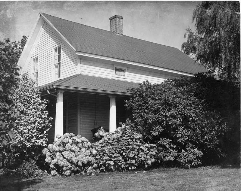 by: LAKE OSWEGO PRESERVATION SOCIETY - The Carman House is shown in this photo as it was in the 1950s. Lake Oswego preservationists want the 158-year-old home to continue being a historic landmark.