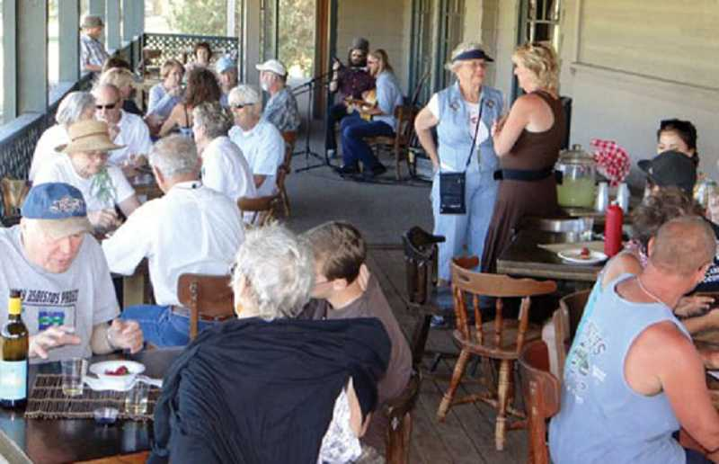 by: SUBMITTED PHOTO - Ranch residents meet for a First Friday Night event.