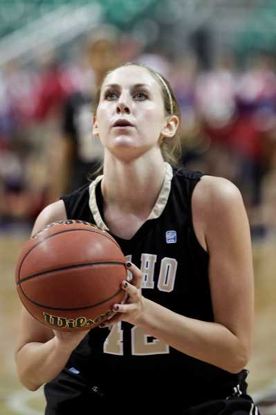 by: IDAHO ATHLETICS - Ashley Walters, who graduated from Wilsonville High School in 2010, played basketball at Idaho for two seasons. She left the team during her junior year to seek medical attention.