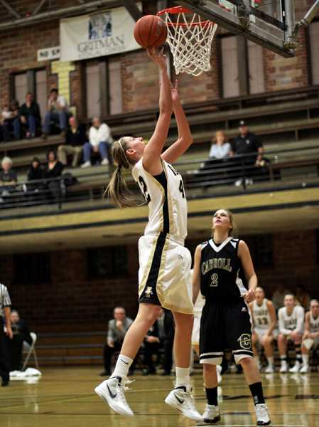 by: IDAHO ATHLETICS - Ashley Walters was a capable offensive player at Idaho, but she took more pride in her role as a defensive shot-blocker.