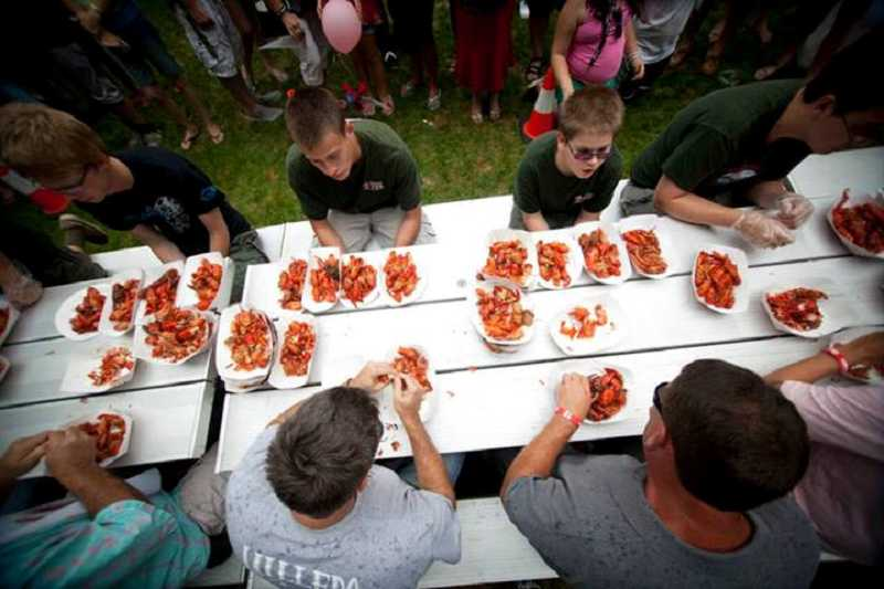 For more than 60 years, the Tualatin Crawfish Festival has been serving up the food and fun at the Tualatin Community Park.