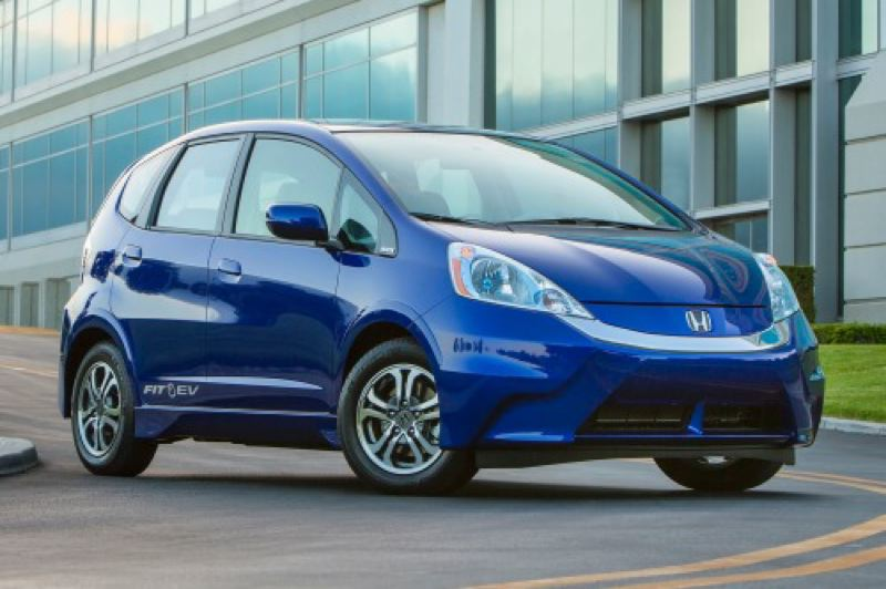 by: AMERICAN HONDA MOTOR COMPANY INC. - The 2013 Honda Fit EV is a gas - not a blast of electricity - to drive.