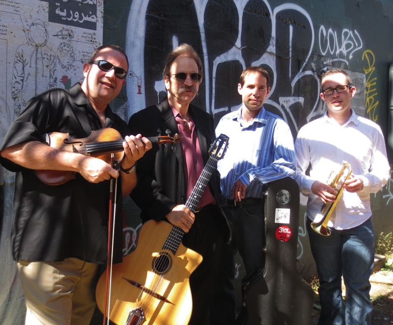 by: COURTESY OF FESTIVAL ROMANI - Portland band Djangophiles, inspired by jazz -swing guitarist Django Reinhardt , highlights the Festival Romani, an all-day affair Aug. 17 at Sellwood Riverfront Park.