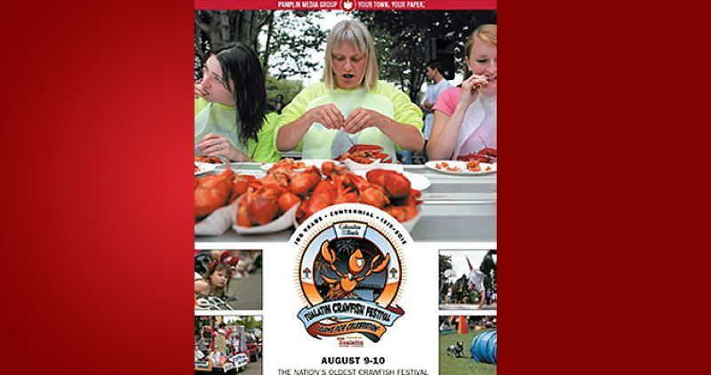 (Image is Clickable Link) by: PAMPLIN MEDIA GROUP - Tualatin Crawfish Festival