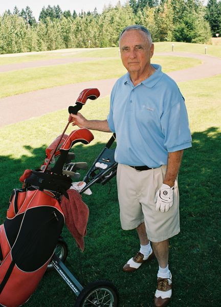 by: JOHN DENNY - At 81 years of age, Paul Davis Jr. of Milwaukie has had five holes in one and he can still shoot his age. He is still in pursuit of his first double eagle and he said he believes it might still be possible on the 463-yard 18th hole at Stone Creek Golf Club, under the right conditions - a really strong wind at my back, and a lot of luck.