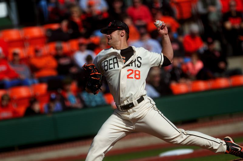by: PHOTO COURTESY OSU - Ben Wetzler, who helped lead Clackamas High Schools baseball teams to state championships in 2008 and 2010, plans to return to Oregon State University next year, putting off a decision to turn pro.
