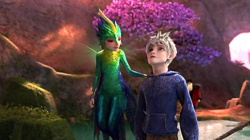 by: CONTRIBUTED PHOTO - Jack Frost and Toothiana are two of the imaginative characters in the animated movie, created last year by DreamWorks, that has won seven awards and has been nominated for 20 other awards including a Golden Globe.