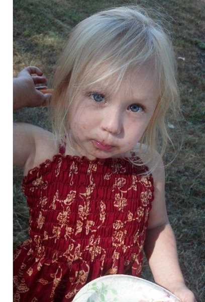 by: CITY OF WOODBURN - Emerald Smith, 2, was reported missing Tuesday evening by her grandmother.