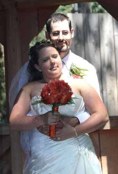 by: MIKE WILLIAMS - Megan Weidemann and Isaac Bradbury married last month.
