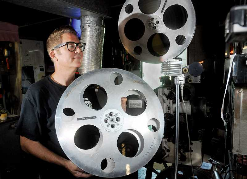 by: GARY ALLEN - Newberg theaters face