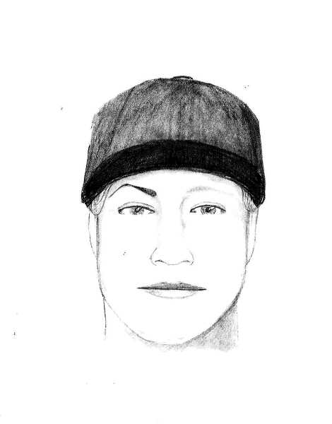 by: COURTESY OF WOODBURN POLICE DEPARTMENT - Police are looking a man depicted in this sketch who allegedly posed as a police officer and stole a Woodburn resident's purse Saturday night.