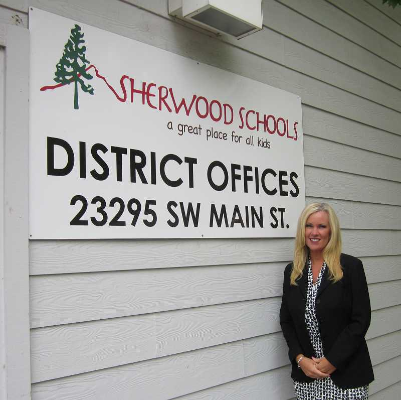 by: BARBARA SHERMAN - Heather Cordie just wrapped up three years as Sherwood School District superintendent and has signed a contract for another three years.