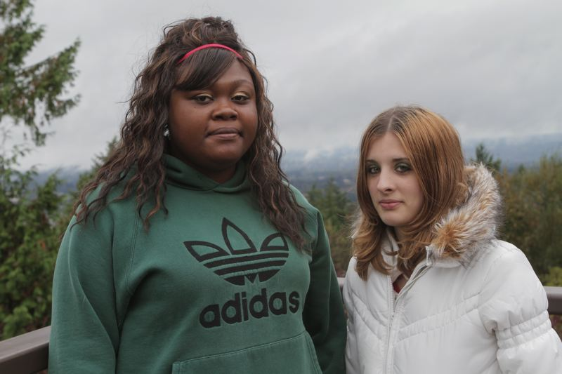by: PHOTO COURTESY: YOUR AMERICAN TEEN - From left, Portland residents Adrianna and Danielle (who did not give their last names) in Charles Taylor Gould's documentary about sexual exploitation of teenage girls in the Northwest.