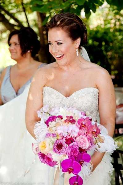 by: SUBMITTED PHOTO - Kathy Manning-Potwin put off seeing a specialist because she was busy planning her dream wedding. She was married in September 2011 and was diagnosed with cervical cancer two months later.