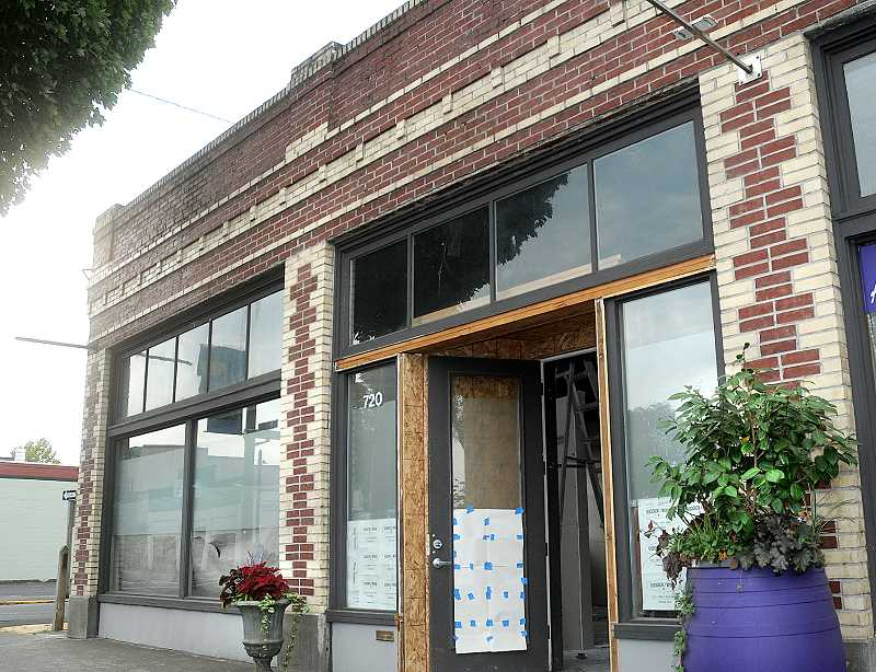 by: GARY ALLEN - Many tenants over the years - The most recent occupant of 720 E. First St., where Ruddick/Wood is expected to open in the fall, was a Jiu-Jitsu and training business and the historic site was originally an auto garage.
