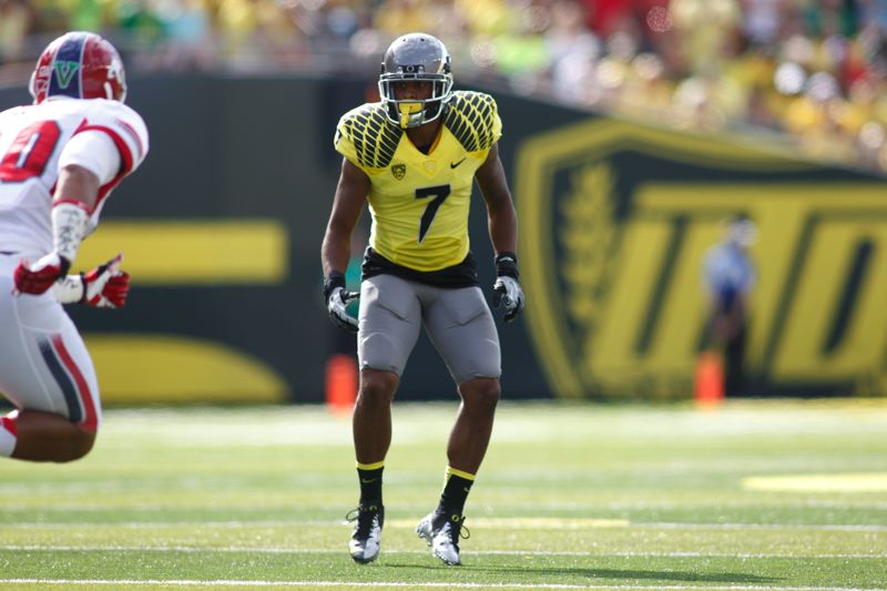 by: COURTESY PHOTO: ERIC EVANS UNIVERSITY OF OREGON ATHLETICS - Lowe wants to start on all three of the Ducks special teams units and said he takes pride in doing the dirty work.