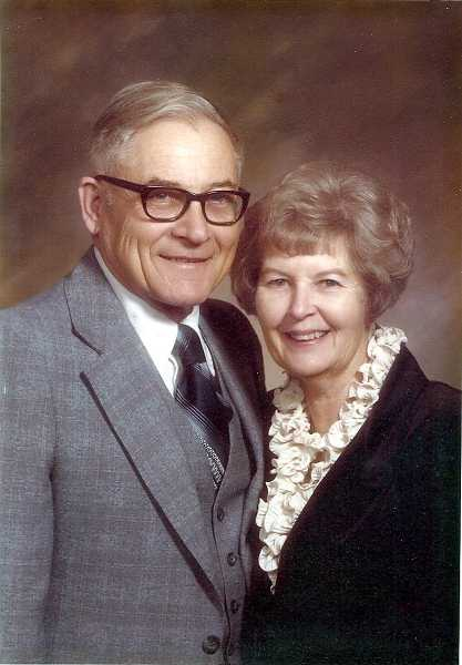 Donald and Roberta Daniels in 1987