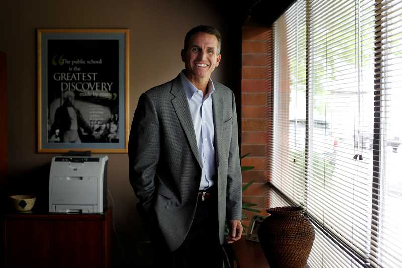 by: TIMES PHOTO: JONATHAN HOUSE - Beaverton School Superintendent Jeff Rose
