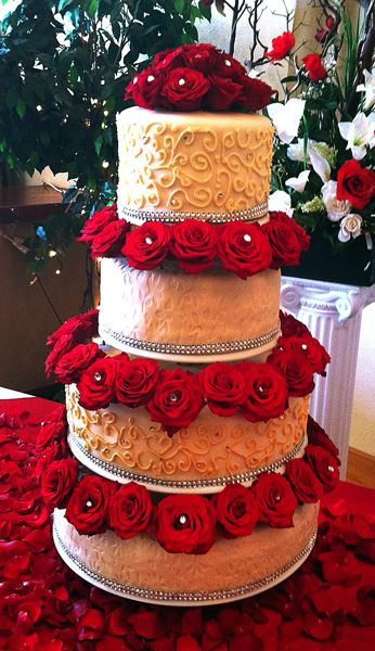 by: CONTRIBUTED - In their spare time Lorena Serrano and Jose Sanchez make beautiful cakes and pastries. Lorena does the baking and Jose does the decorating.