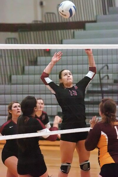 by: DAN BROOD - BOWMEN LEADER -- Junior Mallory Shields, who will play at setter, could be a team leader for Sherwood this season.