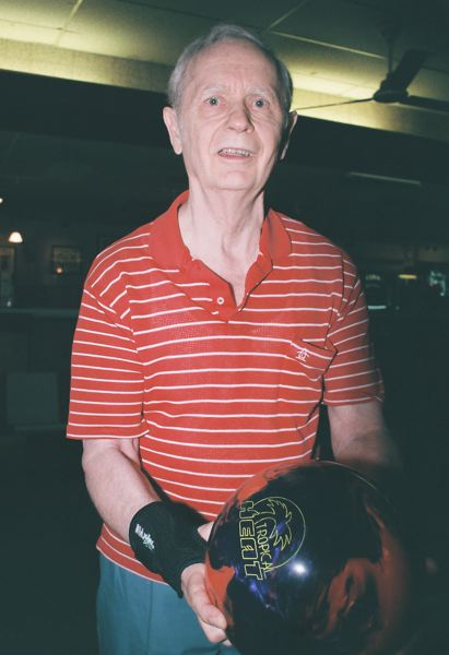 by: JOHN DENNY - Larry Robinson, 74, had a three-game series that was 229 pins above his average, and it earned him first place in the Super Senior Division of the Dave Husted Pro-Am Tournament.