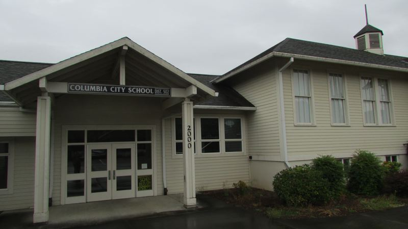 by: MARK MILLER - The Columbia City School, which the St. Helens School District is considering as the future site of a science-focused magnet school. The district closed the Columbia City School last year due to limited funding.