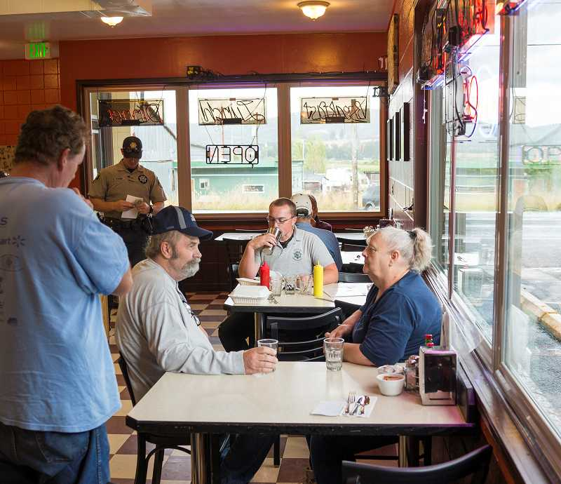 by: NEWS-TIMES PHOTO: CHASE ALLGOOD - The Screamin Chicken Diner, a long-awaited Gaston eatery, has been busy during its first two weeks.