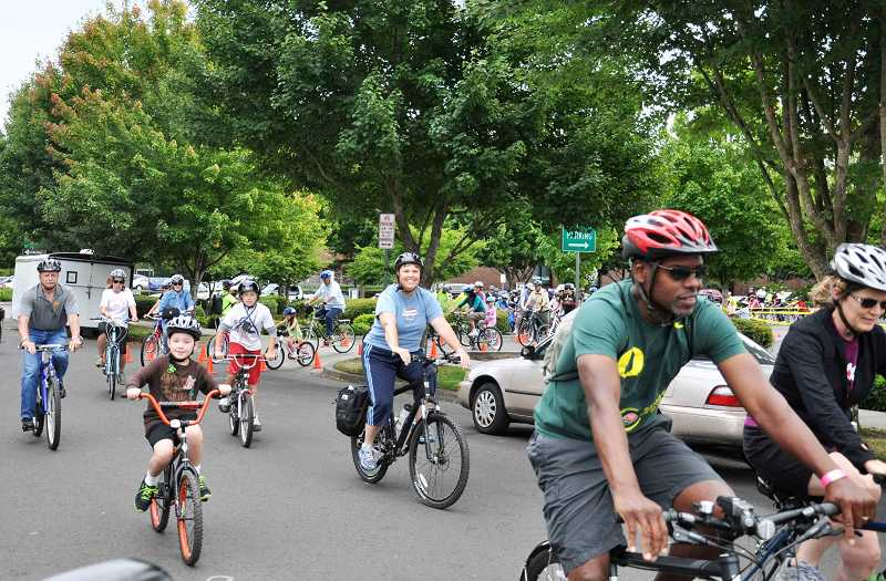 by: SUBMITTED PHOTO - The sixth annual Bike Beaverton event features three family-friendly routes suitable for most skill and experience levels.