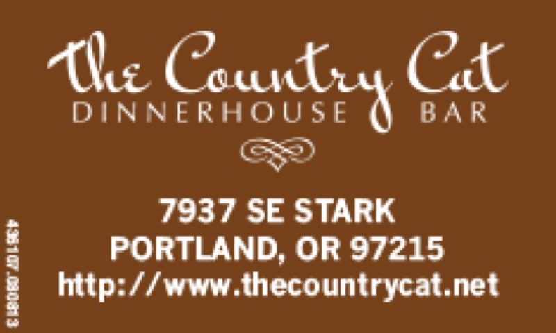 (Image is Clickable Link) The Country Cat Dinnerhouse & Bar