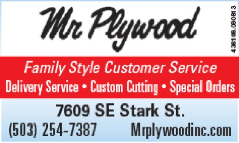 (Image is Clickable Link) Mr Plywood