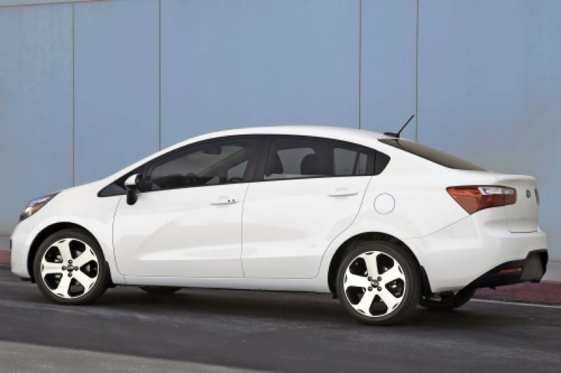 by: HYUNDAI MOTOR COMPANY - The stylish 2013 Kia Rio sedan is also available at a five-door hatchback.