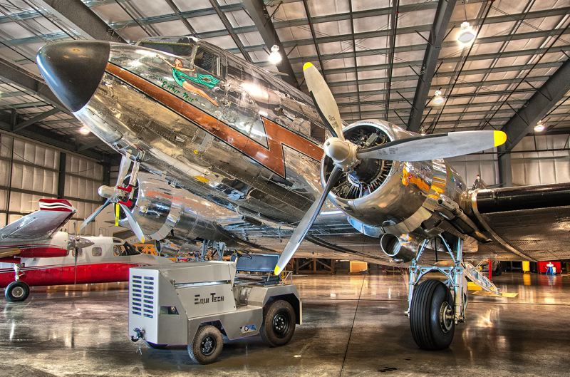 by: SPOKESMAN PHOTO: JOSH KULLA - This DC-3 was restored by Aerometal International, a company dedicated to rebuilding vintage aircraft to FAA standards.