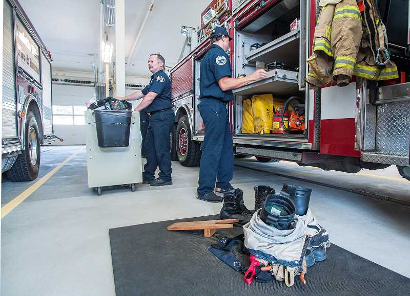 by:  JOSH KULLA - For the crews that will man it, the best thing about Wilsonville's new fire station is the fact they won't be living in temporary quarters anymore.