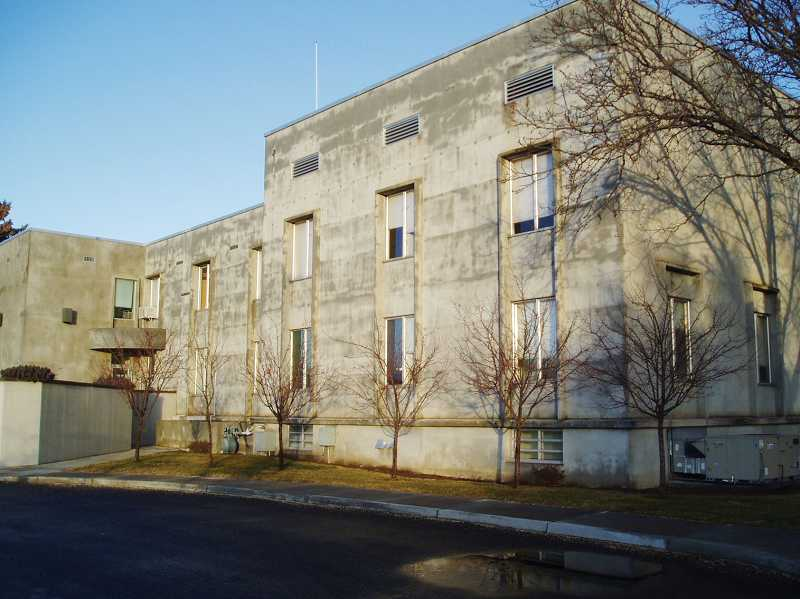 by: SUBMITTED PHOTO - The current courthouse, built in 1961, as well as the vacant 1917 courthouse and a future courthouse will be considered by the Jefferson County Commission at the Sept. 11 meeting.