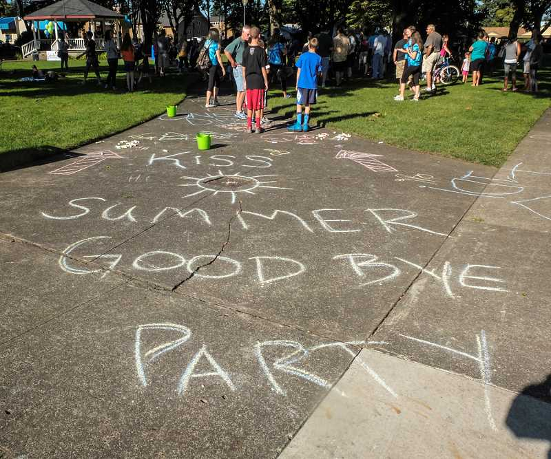 by: RAY HUGHEY - Canby bids farewell to summer with a Saturday celebration in Wait Park.
