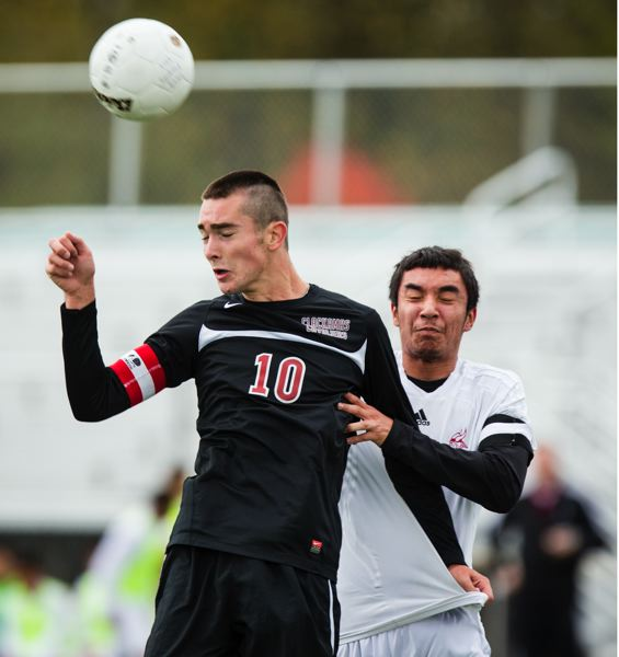 by: CHRISTOPHER ONSTOTT - Senior all-league midfielder Ian Tarnovsky (10) hopes to lead Clackamas soccer team to success this fall.