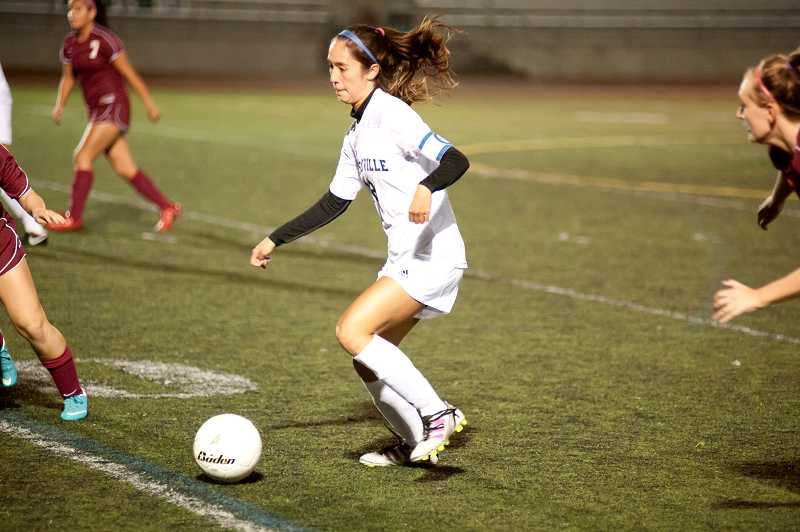 by: GREG ARTMAN / FILE - Wilsonville alumna Elyse Laurin, now a member of the Whitman women's soccer team, had recorded two assists through five games.