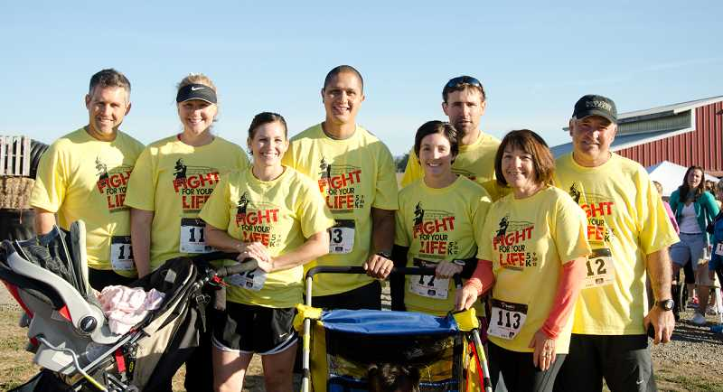 by: SUBMITTED - The Pohlschneider family at French Prairie Gardens will host the second annual Fight for Your Life 5K on Sept. 29.