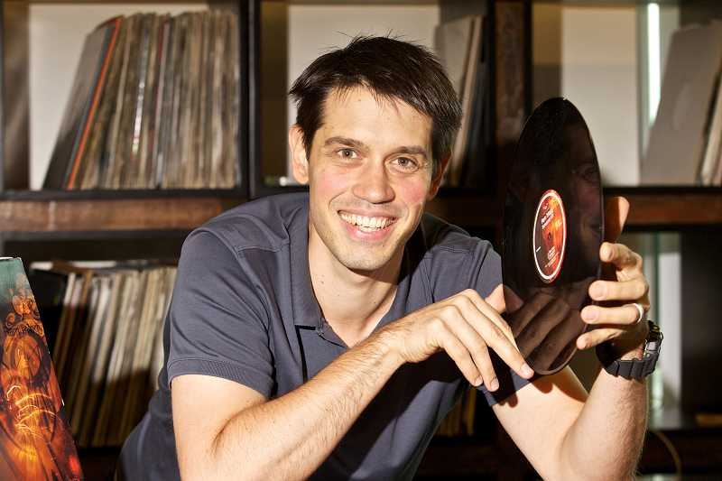 by: TIMES PHOTO: JAIME VALDEZ - Discogs CEO Kevin Lewandowski, who used to work for Intel, has found a way for music lovers to buy and sell vinyl records through his website, discogs.com.