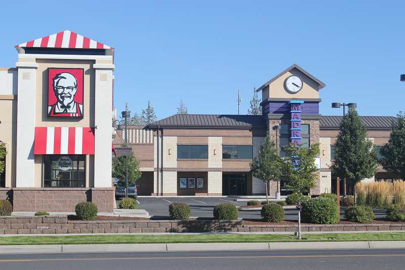 by: HOLLY M. GILL - The developers of Jefferson Square, on U.S. Highway 97, on the south end of Madras, have sold the parcel on which the KFC/A&W sits, but are moving forward with further development. So far, Jefferson Square includes Madras Cinema 5, KFC/A&W and O'Reilly Auto Parts.