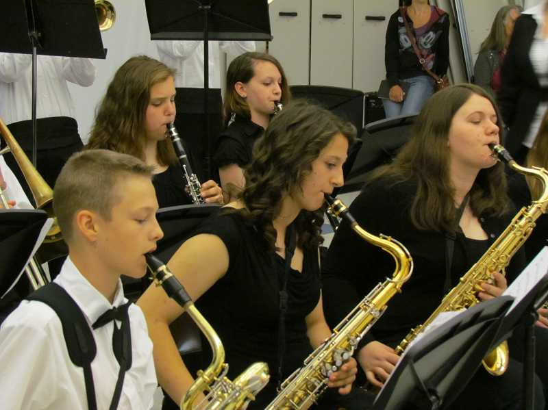 by: SUBMITTED PHOTO - Baker Prairie Middle School is seeking donations of band instruments.